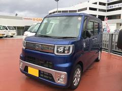 沖縄の中古車 ダイハツ ウェイク 車両価格 152万円 リ済別 平成27年 0.5万K ブルー