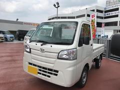 沖縄の中古車 ダイハツ ハイゼットトラック 車両価格 104万円 リ済別 平成29年 5K ホワイト