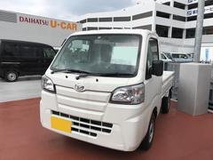 沖縄の中古車 ダイハツ ハイゼットトラック 車両価格 98万円 リ済別 平成29年 5K ホワイト
