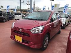 沖縄の中古車 ダイハツ ミライース 車両価格 92万円 リ済別 平成29年 0.3万K ワイン