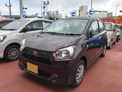 沖縄の中古車 ダイハツ ミライース 車両価格 94万円 リ済別 平成29年 0.2万K ブラウン