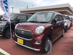 沖縄の中古車 ダイハツ キャスト 車両価格 118万円 リ済別 平成28年 0.6万K レッド