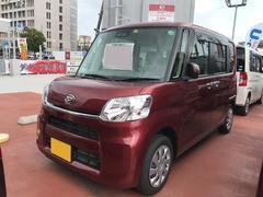 沖縄の中古車 ダイハツ タント 車両価格 130万円 リ済別 平成29年 1.2万K レッド