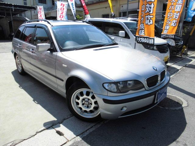 BMW 3シリーズ 318iツーリング後期サンルーフキーレス (検...
