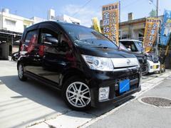 沖縄の中古車 ダイハツ ムーヴ 車両価格 50万円 リ済込 平成22年 7.6万K DブラックM