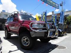 沖縄の中古車 トヨタ ランドクルーザー80 車両価格 109万円 リ済込 平成4年 25.8万K ダークレッドII