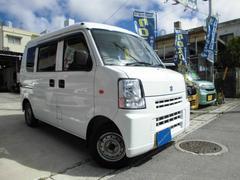 沖縄の中古車 スズキ エブリイ 車両価格 72万円 リ済込 平成21年 3.8万K スペリアホワイト