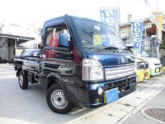沖縄の中古車 スズキ キャリイトラック 車両価格 89万円 リ済込 平成28年 0.3万K ダークブルーM