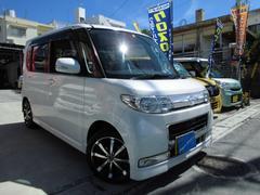 沖縄の中古車 ダイハツ タント 車両価格 69万円 リ済込 平成20年 8.6万K パールホワイトIII