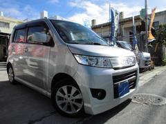 沖縄の中古車 スズキ ワゴンRスティングレー 車両価格 45万円 リ済込 平成20年 7.1万K ライトグレーM