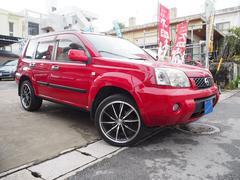沖縄の中古車 日産 エクストレイル 車両価格 55万円 リ済込 平成17年 8.7万K バーニングレッド