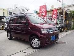 沖縄の中古車 三菱 トッポ 車両価格 44万円 リ済込 平成24年 2.9万K ラズベリーレッドパール