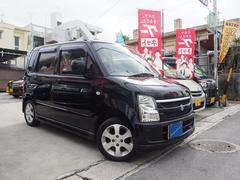 沖縄の中古車 スズキ ワゴンR 車両価格 34万円 リ済込 平成19年 5.8万K ブルーイッシュブラックパール3