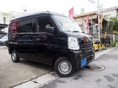 沖縄の中古車 スズキ エブリイ 車両価格 95万円 リ済別 平成29年 0.8万K ブラックマイカ