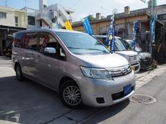 沖縄の中古車 日産 セレナ 車両価格 49万円 リ済込 平成22年 11.7万K ダイヤモンドシルバーM