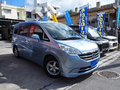 沖縄の中古車 ホンダ ステップワゴン 車両価格 55万円 リ済込 平成20年 7.4万K ルミナスブルーパール