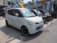 沖縄の中古車 日産 モコ 車両価格 18万円 リ済込 平成20年 9.1万K スノーパールホワイト