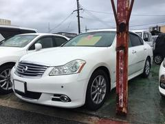 沖縄の中古車 日産 フーガ 車両価格 77万円 リ済込 平成20年 13.5万K パール