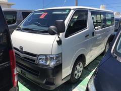 沖縄の中古車 トヨタ ハイエースバン 車両価格 165万円 リ済込 平成25年 8.4万K ホワイト