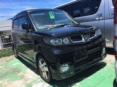沖縄の中古車 ホンダ ゼストスパーク 車両価格 59万円 リ済込 平成24年 4.8万K ブラック