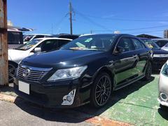 沖縄の中古車 トヨタ カムリ 車両価格 129万円 リ済込 平成24年 8.5万K ブラック