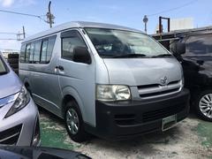 沖縄の中古車 トヨタ ハイエースワゴン 車両価格 157万円 リ済込 平成18年 8.5万K グレー