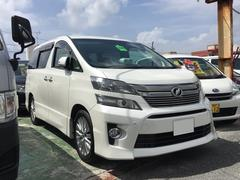 沖縄の中古車 トヨタ ヴェルファイア 車両価格 197万円 リ済込 平成24年 9.5万K パール
