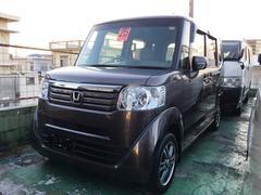 沖縄の中古車 ホンダ N BOX 車両価格 ASK リ済込 平成25年 9.4万K グレー