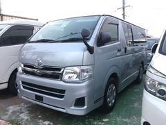 沖縄の中古車 トヨタ ハイエースバン 車両価格 155万円 リ済込 平成24後 12.8万K シルバー