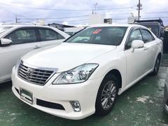 沖縄の中古車 トヨタ クラウン 車両価格 ASK リ済込 平成25年 11.0万K パール