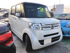 沖縄の中古車 ホンダ N BOX 車両価格 ASK リ済込 平成27年 8.2万K パール