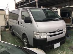 沖縄の中古車 トヨタ ハイエースバン 車両価格 197万円 リ済込 平成26年 6.1万K グレー