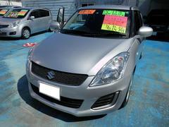 沖縄の中古車 スズキ スイフト 車両価格 63万円 リ済別 平成26年 7.5万K シルバーM