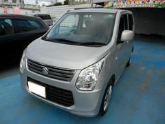 沖縄の中古車 スズキ ワゴンR 車両価格 63万円 リ済別 平成26年 7.9万K シルバーM