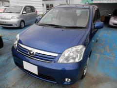 沖縄の中古車 トヨタ ラウム 車両価格 45万円 リ済込 平成20年 4.0万K ブルーM