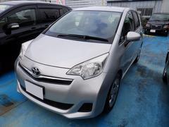 沖縄の中古車 トヨタ ラクティス 車両価格 58万円 リ済込 平成24年 5.8万K シルバー