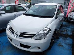 沖縄の中古車 日産 ティーダラティオ 車両価格 49万円 リ済込 平成23年 3.8万K ホワイト