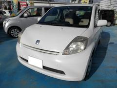 沖縄の中古車 トヨタ パッソ 車両価格 15万円 リ済込 平成17年 6.5万K ホワイト