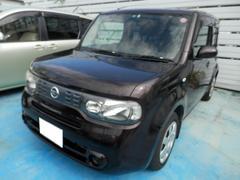 沖縄の中古車 日産 キューブ 車両価格 38万円 リ済込 平成21年 8.8万K Dブラウン