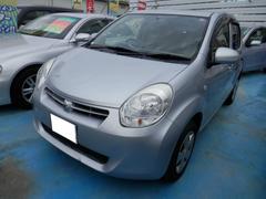 沖縄の中古車 トヨタ パッソ 車両価格 48万円 リ済込 平成24年 4.6万K シルバーM