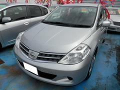沖縄の中古車 日産 ティーダラティオ 車両価格 49万円 リ済込 平成24年 2.0万K シルバーM