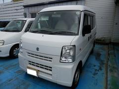 沖縄の中古車 スズキ エブリイ 車両価格 45万円 リ済込 平成20年 5.8万K ホワイト