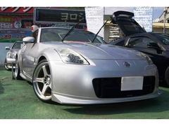 沖縄の中古車 日産 フェアレディZ 車両価格 152万円 リ済込 平成17年 5.5万K シルバー
