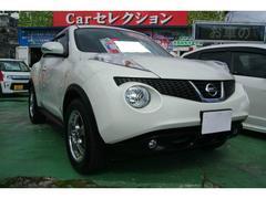 沖縄の中古車 日産 ジューク 車両価格 85万円 リ済込 平成22年 9.2万K ホワイト