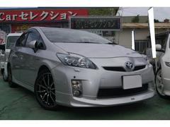 沖縄の中古車 トヨタ プリウス 車両価格 108万円 リ済込 平成21年 8.6万K シルバー