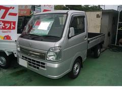 沖縄の中古車 スズキ キャリイトラック 車両価格 88万円 リ済込 平成29年 11K シルバー