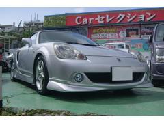 沖縄の中古車 トヨタ MR−S 車両価格 83万円 リ済込 平成16年 7.6万K シルバー