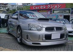 沖縄の中古車 スバル インプレッサ 車両価格 120万円 リ済込 平成17年 12.2万K シルバー