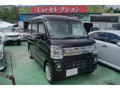 沖縄の中古車 スズキ エブリイワゴン 車両価格 158万円 リ済込 平成29年 7K パープル