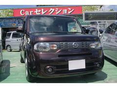 沖縄の中古車 日産 キューブ 車両価格 45万円 リ済込 平成21年 11.3万K Dブラウン